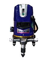 Deke® 3-строчная 530нм инфракрасная лазерная маркировка
