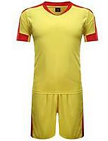 Homme Football Maillot + Short/Maillot+Cuissard Respirable Printemps Eté Hiver Automne Classique Polyester Football