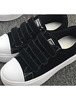 Women's Sneakers Spring Comfort PU Casual Brown Black