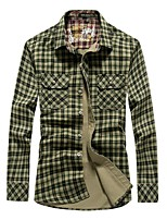Men's Outdoor Sports Shirt Camping Hiking Leisure Fashion Long Sleeve Shirt Spring Autumn Casual Classic Tshirt
