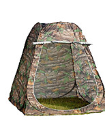 1 personne Tente Double Tente pliable Deux pièces Tente de camping 2000-3000 mm Fibre de verre OxfordRésistant à l'humidité Etanche