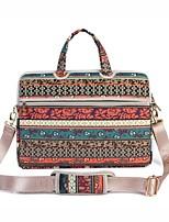 13.3 14.1 15.6 polegadas saco de ombro boémio retro do estilo do estilo com o saco de mão da correia para a superfície / dell / hp /