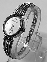Women's Women Bracelet Watch Quartz Metal Band Vintage Silver