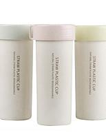Minimalismo Ir Artigos para Bebida, 450 ml Portátil Livre de BPA Acrílico Água Copo