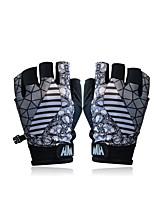 Спортивные перчатки Жен. Муж. Перчатки для велосипедистов Лето Велоперчатки Дышащий Защита от солнечных лучей Без пальцев Спандекс