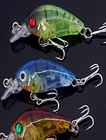 2 pcs Crank Fishing Lures Crank phantom g/Ounce,45 mm/1-3/4