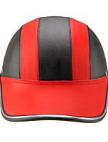Motor Helmet Baseball Cap Style Safety Hard Hat Anti-UV  RedBlack
