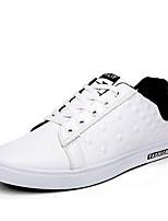 Men's Sneakers Summer Fall Comfort Outdoor Athletic Casual Flat Heel Split Joint Walking