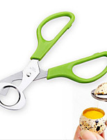 Novelty Stainless steel Kitchen Quail egg Chopped Scissors Birds' eggs Cut Shredding Scissors Cut egg Apparatus 1PC