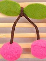 Hunde Fell-Accessoires Hundekleidung Sommer einfarbig Niedlich Fuchsia Rosa