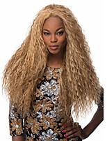 Длинные светлые парики цвета для черных женщин термостойкий синтетический парик фигурные синтетические женщины афро европейские парики