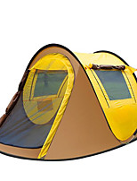 Outdoor 3-4 People Full of Outdoor Camping More Than 2 Seconds Quick Open Tents Beach Tents