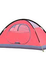 1 personne Tente Double Tente pliable Une pièce Tente de camping >3000mm Oxford Résistant à l'humidité Etanche Résistant au vent-