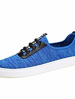 Men's Sneakers Spring Comfort Tulle Casual Gray Dark Blue Orange