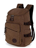 Men Sports & Leisure Bag Canvas All Seasons Sports Outdoor Professioanl Use Camping & Hiking Climbing Zipper Coffee