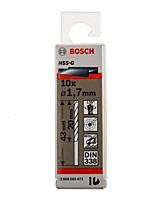 Bosch hss-g высокоскоростной стальной твист-дрель g1.7mm / pag