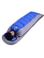 Sleeping Bag Rectangular Bag Single -5~15 T/C Cotton 220X75 Camping Outdoor Keep Warm 自由之舟骆驼