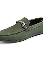 Men's Loafers & Slip-Ons Moccasin Fleece Casual Flat Heel Walking
