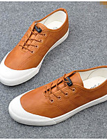 Men's Sneakers Spring Comfort Canvas Rubber Casual