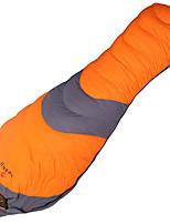 Saco de dormir Tipo Múmia Solteiro (L150 cm x C200 cm) -20 -10 0 Penas de Pato80 Campismo ExteriorÁ Prova de Humidade Prova de Água