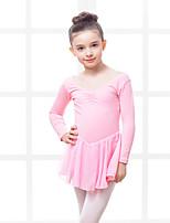 RobesMousseline Coton ElasthanneEnfant Entraînement Danse classique