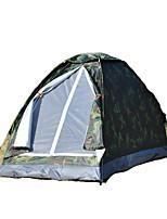 1 personne Tente Unique Tente pliable Une pièce Tente de camping 1000-1500 mm Fibre de verre OxfordRésistant à l'humidité Etanche
