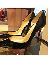Femme-Décontracté-Noir AmandeA Bride Arrière-Chaussures à Talons-Polyuréthane