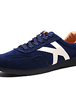 Men's Sneakers Spring Fall Comfort Fleece Casual Lace-up Gray Dark Blue Black