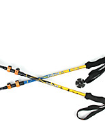 3 Nordic Walking Poles 1 pcs 135cm (53 Inches) Damping Foldable Light Weight Adjustable Fit Aluminum Alloy 7075Camping & Hiking Traveling