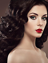 Capless Natural Black Wigs Wigs Deep Wave Style Synthetic Wig for Women Costume Wigs Cosplay Wigs