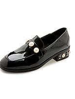 Mujer Zapatillas de deporte Confort zapatos Bullock Zapatos formales Semicuero Verano Otoño Oficina y Trabajo Vestido Informal PaseoPerla
