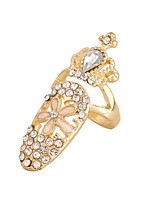 Ring Euramerican Personalized Rhinestone Zinc Alloy Jewelry For Wedding Party 1pc