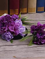 Látka Přílba-Svatba Zvláštní příležitost Outdoor Květiny Vlásenka Jeden díl