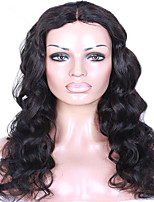 Body Wave Wig Brazilian Human Virgin Human Hair Glueless Lace Front Wig with Baby Hair