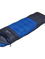 Sleeping Bag Rectangular Bag Single -3-8 Polyester75 Hiking Camping Traveling Portable Keep Warm