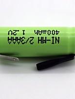 Ni-mh 2/3AAA 400mAh 1.2V