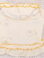 Chien Robe Vêtements pour Chien Printemps/Automne Dessin-Animé Mignon Jaune Bleu Rose