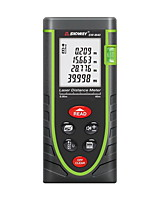 Sndway SW-M40 Handheld Digital 40m 635nm Laser Distance Measurer with Distance & Angle Measurement(1.5V AAA Batteries)