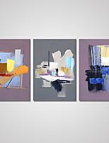 Отпечатки на холсте Абстракция Modern,3 панели Холст Вертикальная Печать Искусство Декор стены For Украшение дома