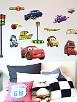 Caricatura De moda Transporte Pegatinas de pared Calcomanías de Aviones para Pared Calcomanías Decorativas de Pared,Papel Material