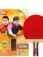 3 Stars Ping Pang/Table Tennis Rackets Ping Pang Wood Short Handle Pimples