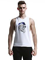 Homme Sans manche Course / Running Débardeur Respirable Doux Confortable Eté Vêtements de sportExercice & Fitness Sport de détente