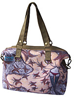 Women Canvas Casual Tote Blue