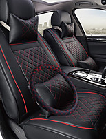 Business Car 7 Seater Van Seven Car seat Cushion Leather Four Seasons Cushion Seat Cover