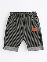 Boys' Casual/Daily Striped Shorts-Cotton Summer