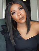 Новый стиль бразильских виргинских волос Боб кружево парики для женщин полный кружево человеческих волос парики прямой короткий