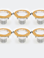 6Pcs Yangming3W 30006000K Warm White Cool White LED Canister Light (85-265V)  004