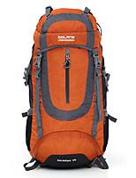 55 L Заплечный рюкзак Восхождение Спорт в свободное время Отдых и туризмВодонепроницаемость Пригодно для носки Дышащий
