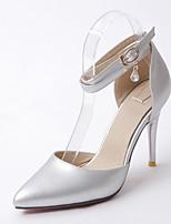 Mujer-Tacón Stiletto-Confort Innovador-Tacones-Boda Oficina y Trabajo Informal-Sintético Semicuero PU-