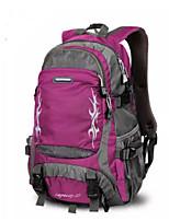 Women Sports & Leisure Bag Nylon All Seasons Sports Outdoor Professioanl Use Camping & Hiking Climbing Zipper Purple